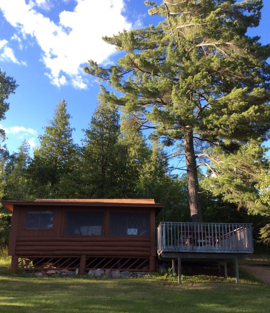 Northern Minnesota Resorts-River Point Resort-Log Cabin