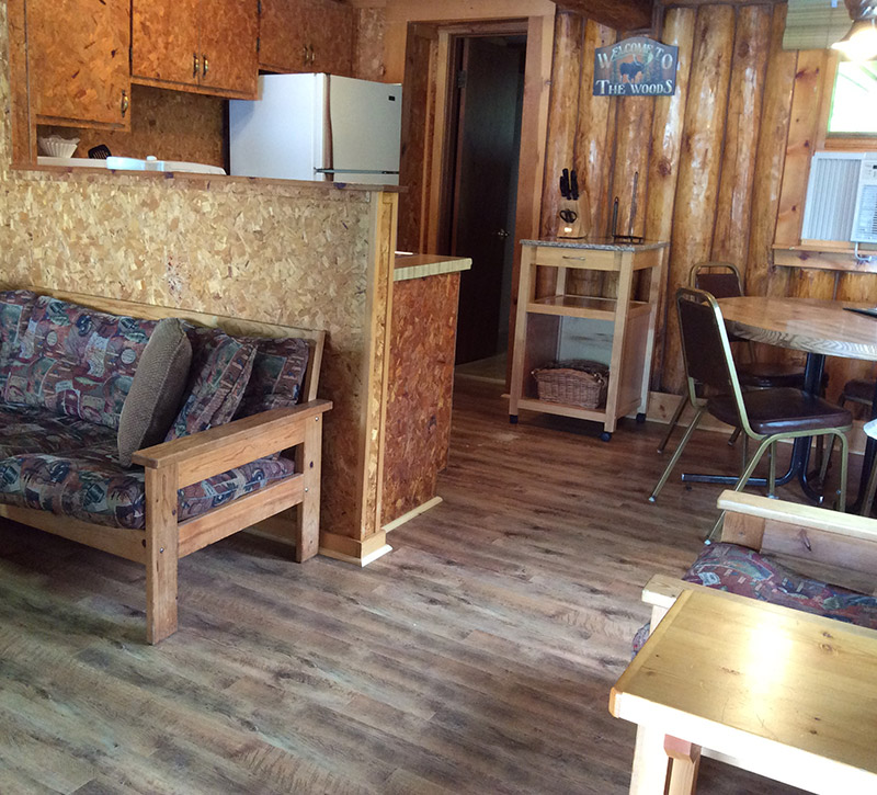Cabins-Nothern Minnesota Resorts-Northern Minnesota Cabins-Log Cabin