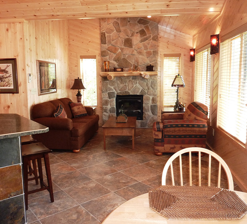 Ely MN Cabin Rentals-Honeymoon Getaway-The Point-River Point Resort