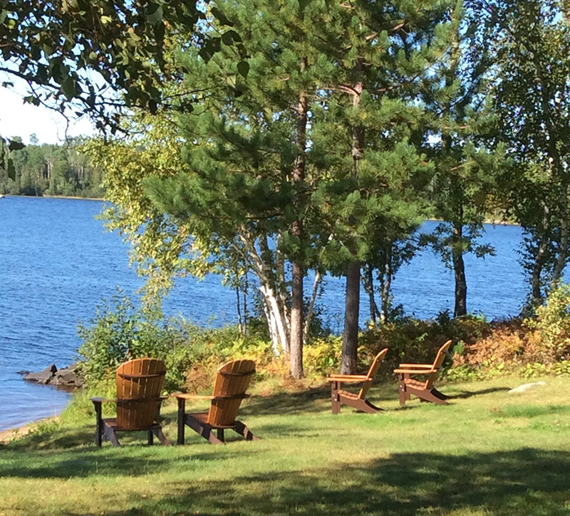 Relaxing Cabins-Northern Minnesota Cabins-River Point Resort-Birch Lake