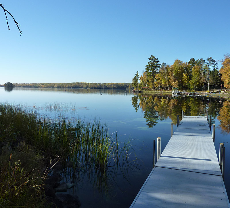 Ely MN Vacation Home Rentals-Private Dock-River Point Resort-Birch Lake