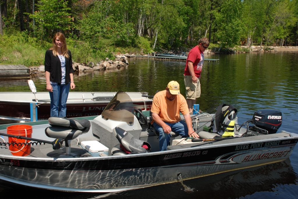 Marina Rentals-River Point Resort-ProFishBoats-Birch Lake-Ely MN