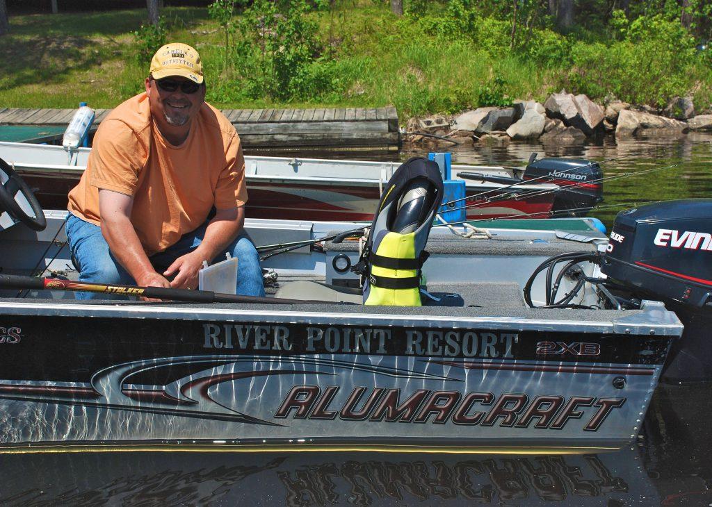 Fishing Minnesota Resorts-River Point Resort-Birch Lake-Ely MN