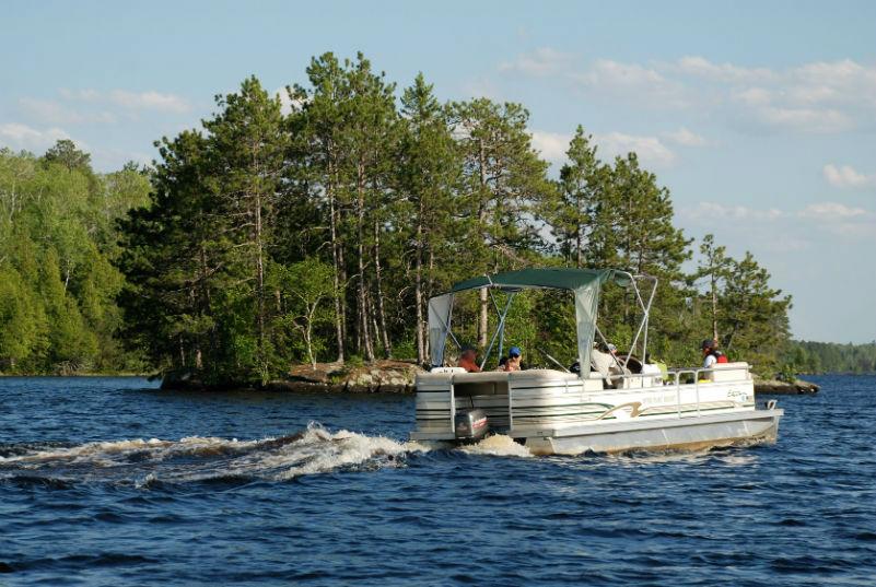 Marina Rentals-River Point Resort-Pontoons-Birch Lake-Ely MN