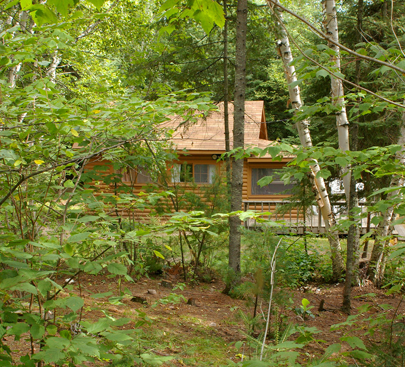 Northern Minnesota Resorts-Hideaway Cabin-Northern MN Cabins-River Point Resort