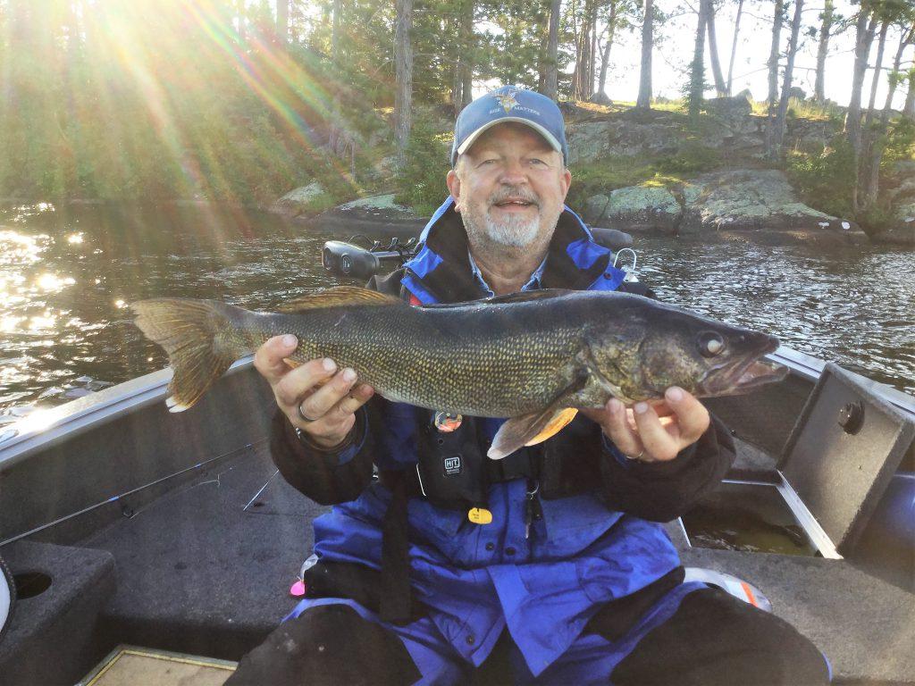 Fishing Resorts Minnesota-River Point Resort-Walleyes-Birch Lke-Ely MN