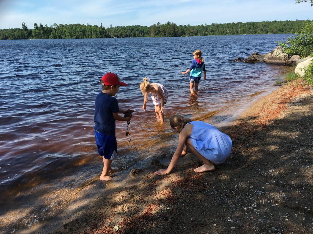 Northern Minnesota Cabins-South Beach Fun-River Point Resort-Birch Lake-Ely