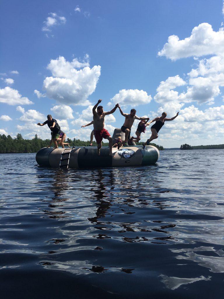Ely MN Vacation Home Rentals-Raft Fun-River Point Resort-Birch Lake