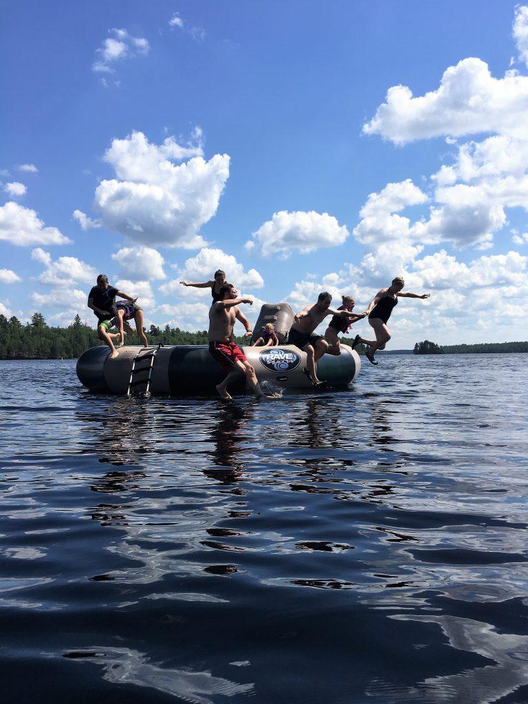 Family Reunion Resorts Minnesota-Lakefront Villa Lodging-River Point Resort-Ely