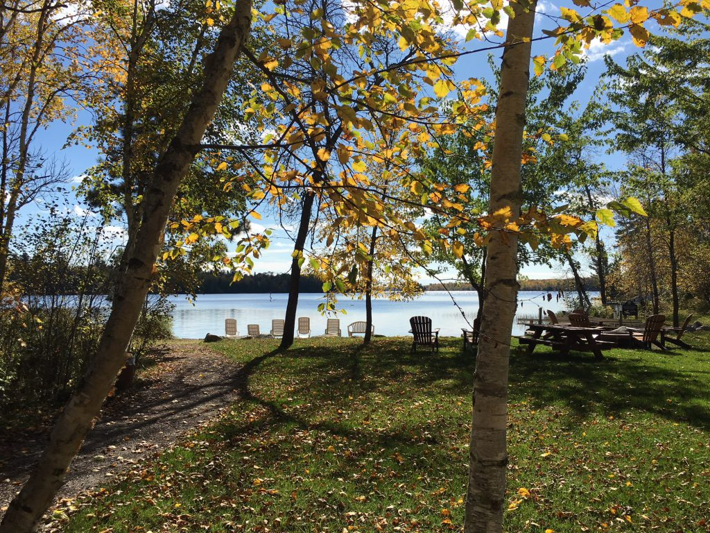 Ely MN Vacation Home Rentals-Fire Pit-River Point Resort-Birch Lake