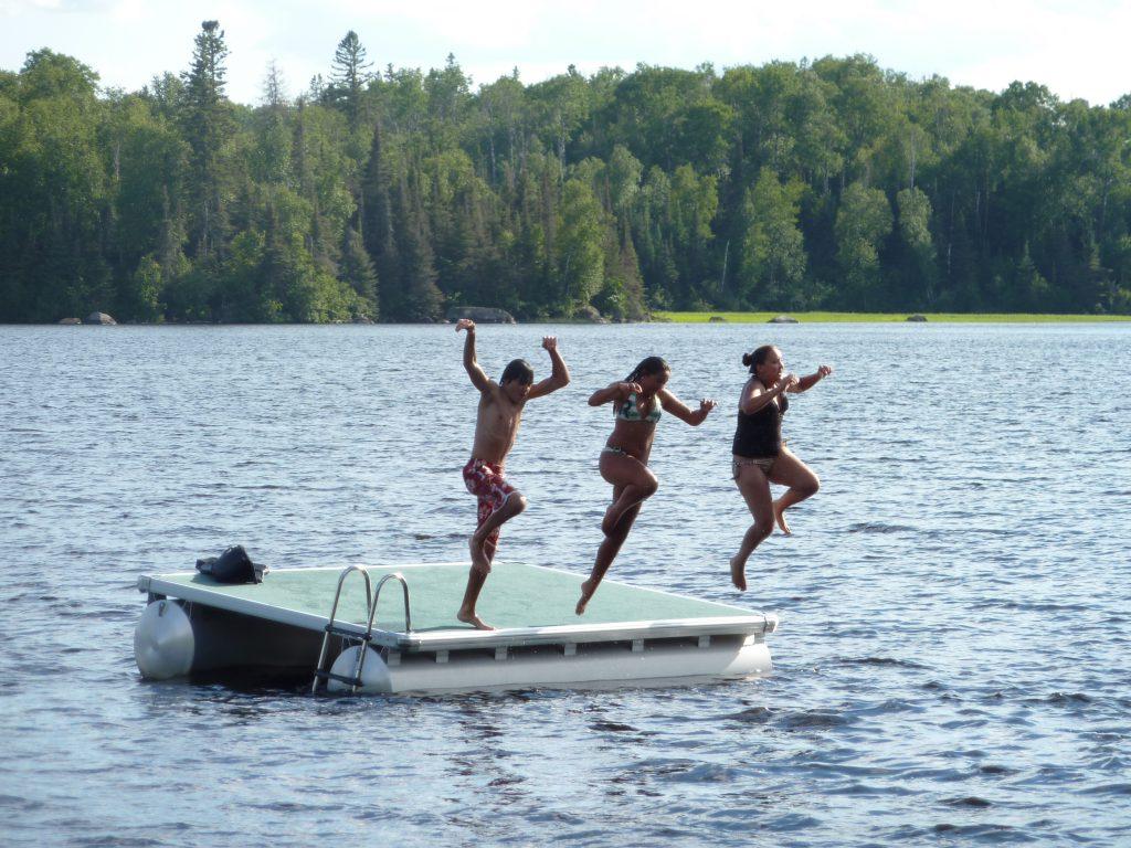 Northern Minnesota Cabins-Raft Fun-River Point Resort-Birch Lake-Ely