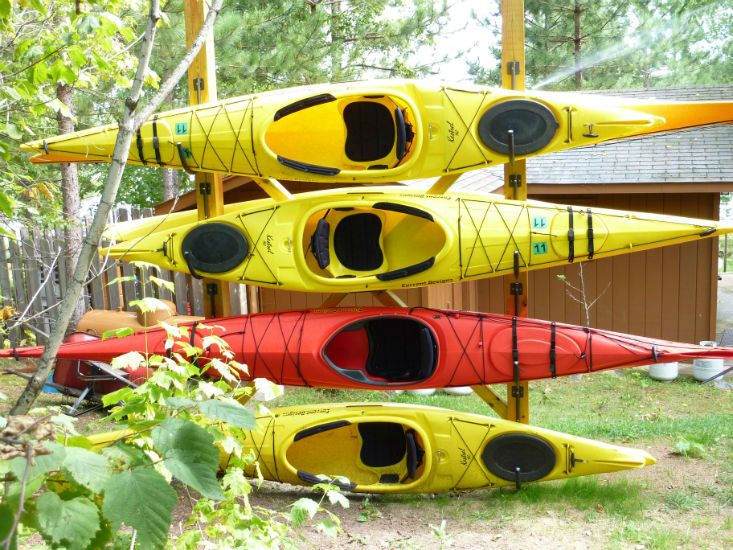 Marina Rentals-River Point Resorts-Sea Kayaks-Birch Lake-Ely MN