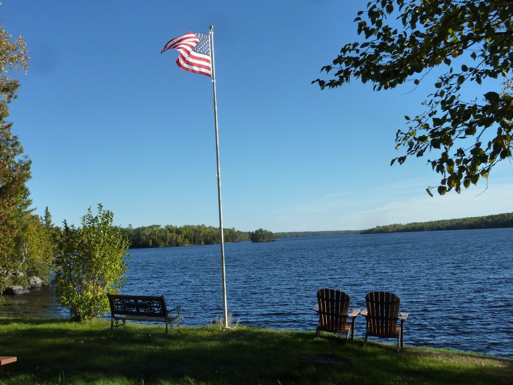 Ely Minnesota Hotesl Motels-Chalet Lodging at River Point Resort-Birch Lake