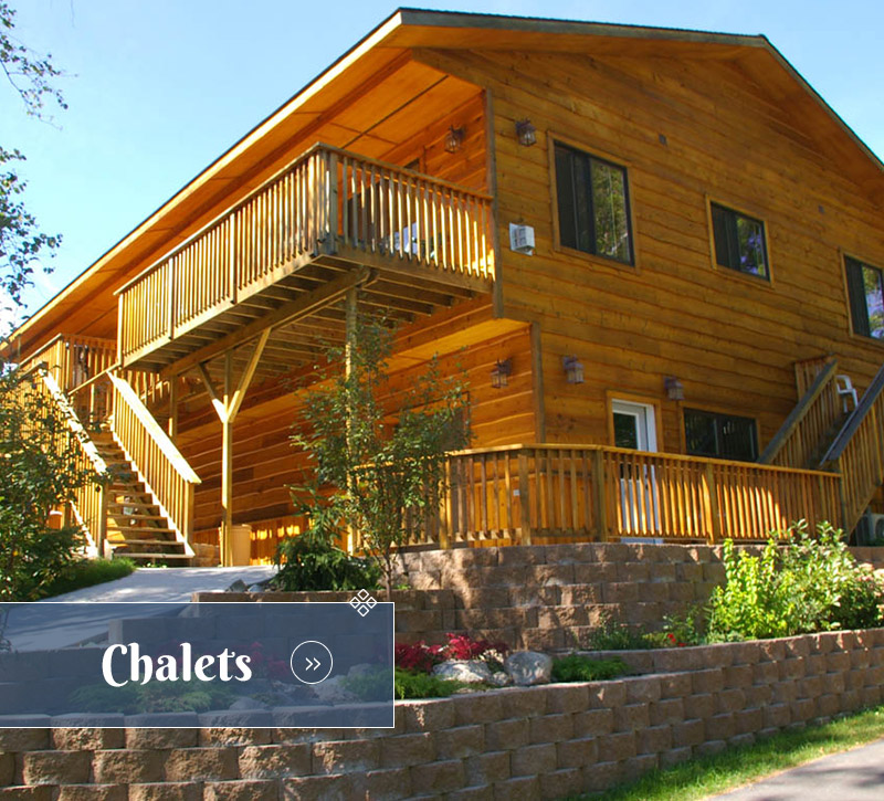 Chalets-Ely Minnesota Hotels Motels-River Point Resort