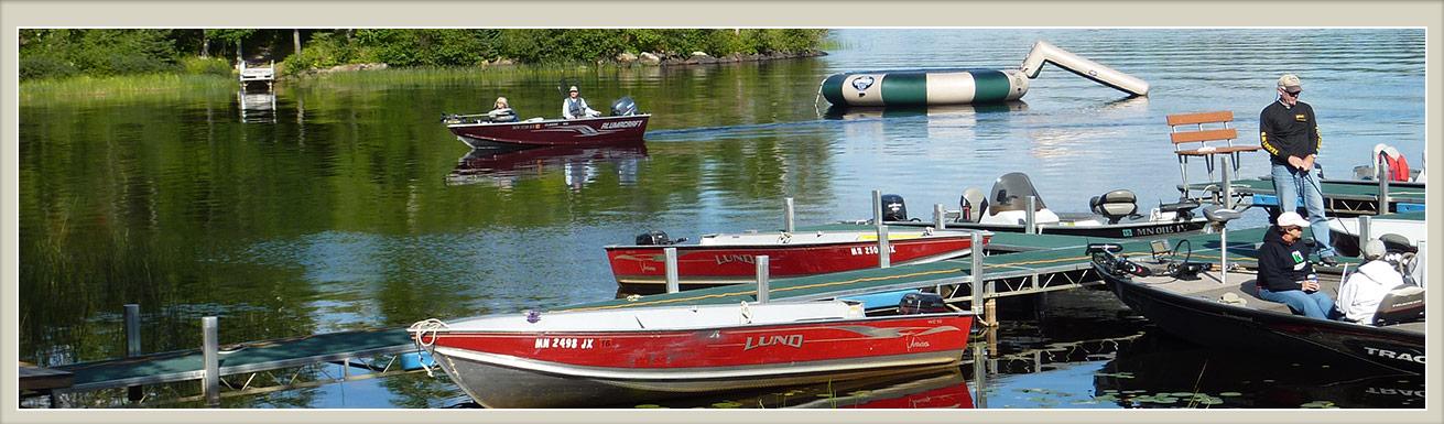 Minnesota Walleye Fishing Resorts-River Point Resort-Birch Lake