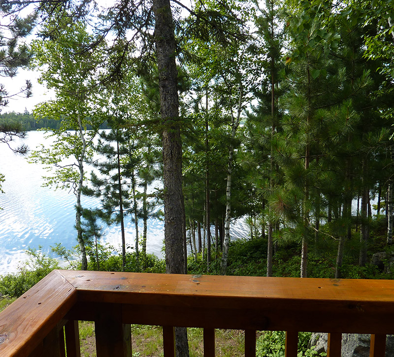 Ely MN Cabin Rentals-The Point Cabin-River Point Resort-Birch Lake