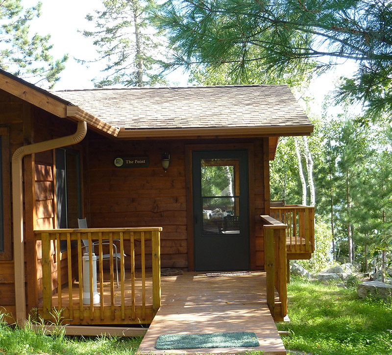 Ely MN Cabin Rentals-The Point Cabin-River Point Resort