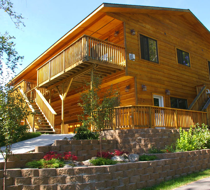 Ely Minnesota Hotes Motels-Chalets at River Point Resort-Birch Lake