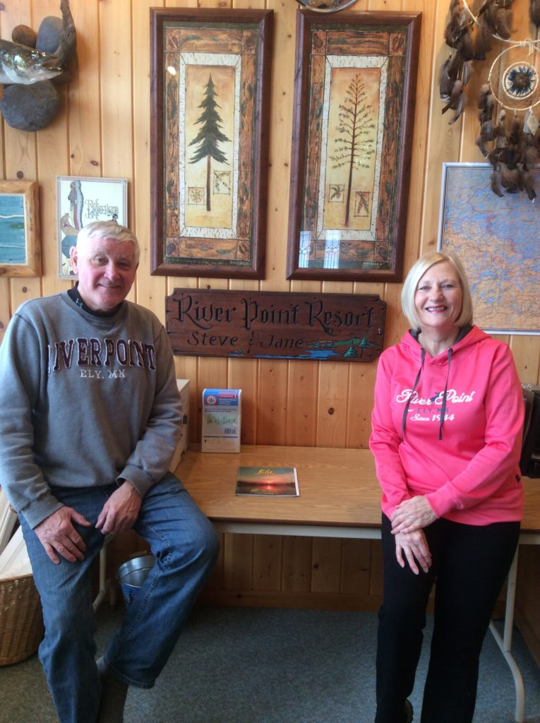 Minnesota Family Resorts-Jane & Steve Koschak-River Point Resort-Birch Lake-Ely MN