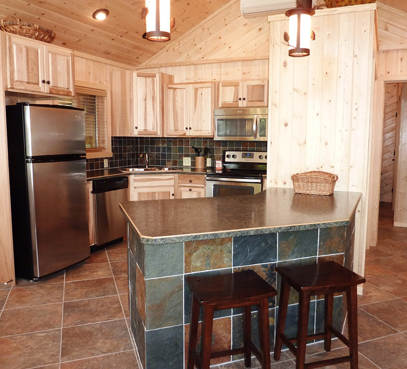 Minnesota Vacation Home Cabins-The Point Cabin-River Point Resort-Ely