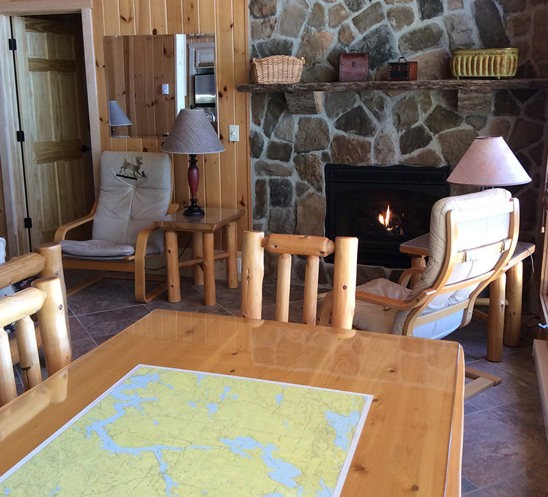 Ely Minnesota Cabins-Bayport Cabin-River Point Resort-Birch Lake
