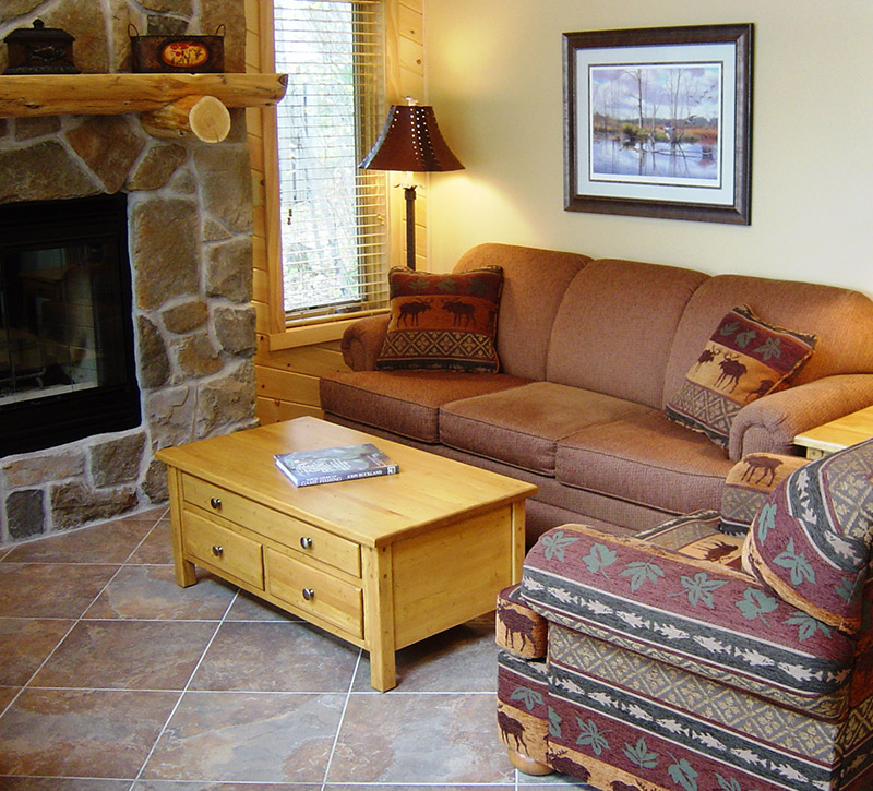 Ely Minnesota Cabin Rentals-Riverview Cabin-River Point Resort-Birch Lake