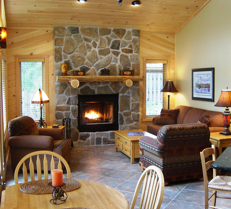 Ely Minnesota Cabins Rentals-Minnesota Cabins-Riverview-River Point Resort