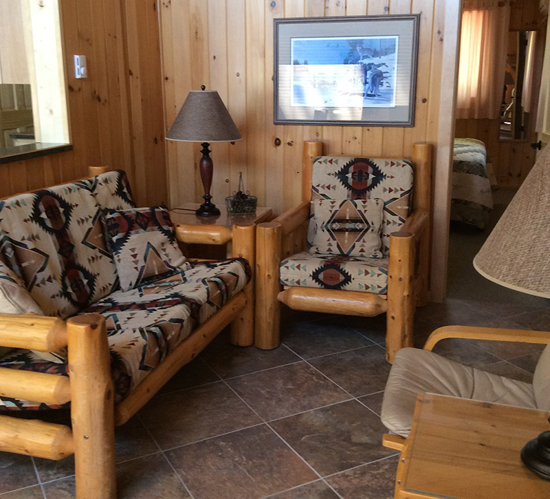 Minnesota Vacation Home Cabins-River Point Resort-Bayport Living Room