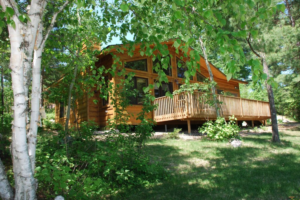 Minnesota Vacation Home Cabins-Riverview Cabin-River Point Resort-Birch Lake