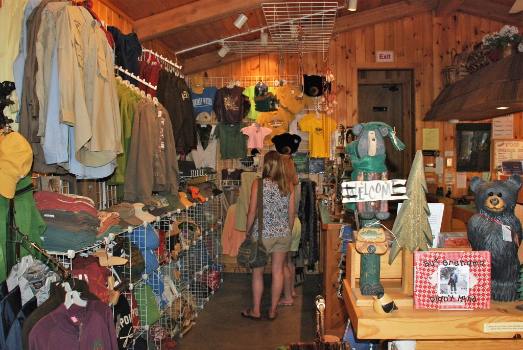 Ely Minnesota Resorts-River Point Resort-Birch Lake-Gift Shop