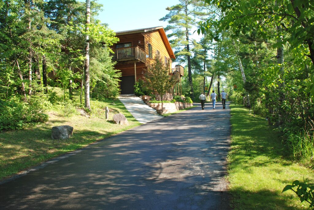 Ely Minnesota Hotels Motels-Chalets at River Point Resort-Birch Lake