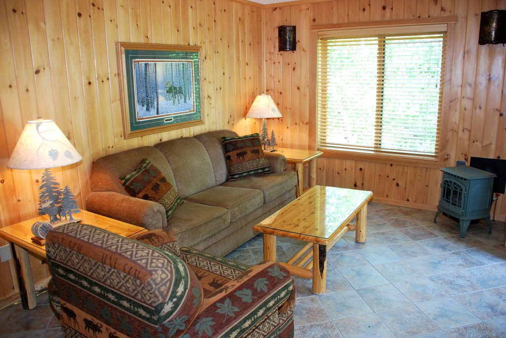 Ely Minnesota Hotels Motels-Chalets at River Point Resort-Birch Lake