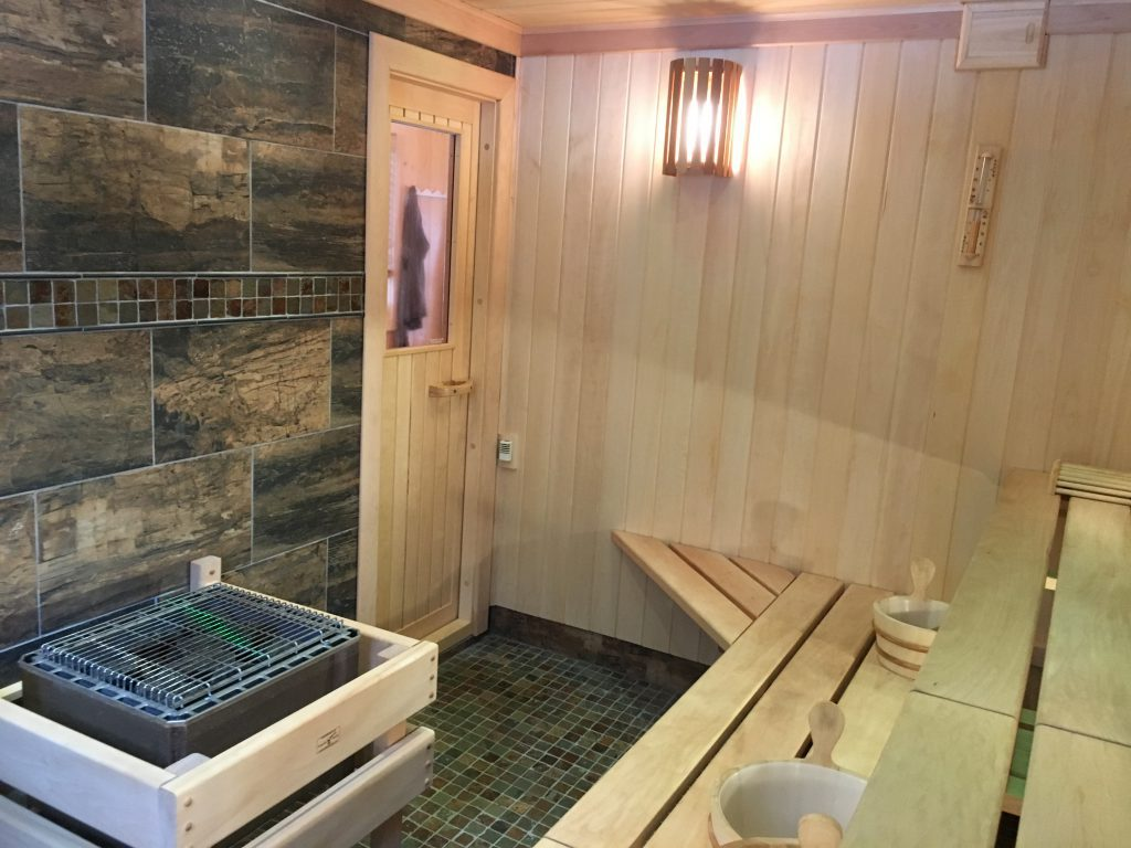 Ely Resorts Lodges-Stoneridge Villa-River Point Resort-Sauna