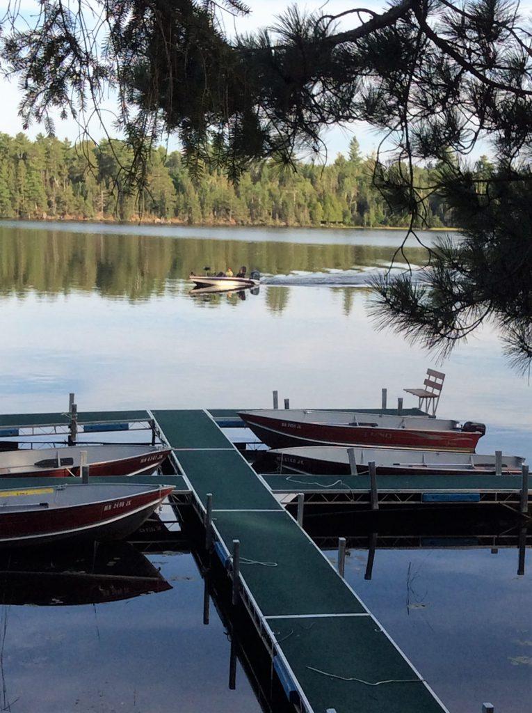 Minnesota Vacation Home Cabins-Ely Minnesota Cabins-Bayport Cabin Dock