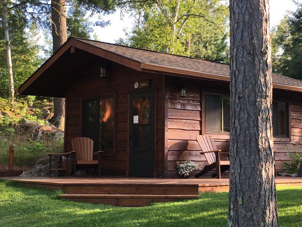 Northern Minnesota Resorts-River Point Resort-Sauna