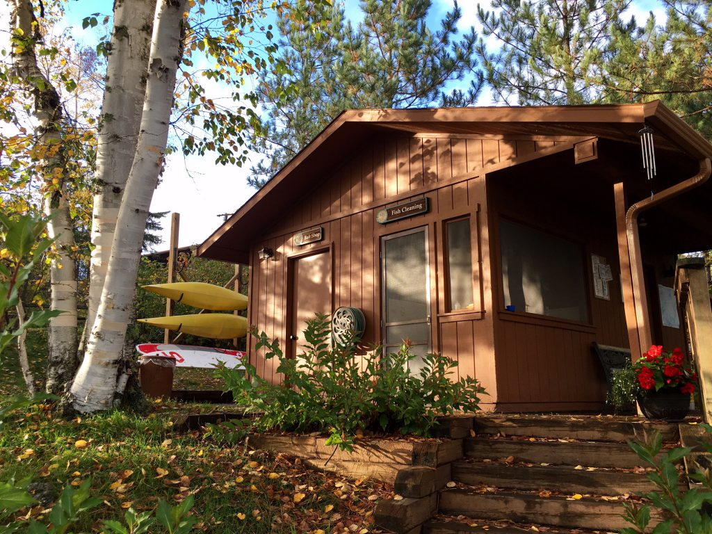 Northern Minnesota Cabins-Bait Shop-River Point Resort-Birch Lake-Ely