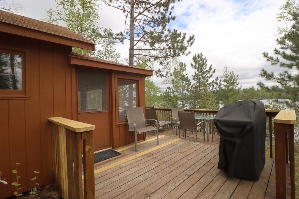Northern Minnesota Resorts-Summerbreeze Cabin-River Point Resort-Ely