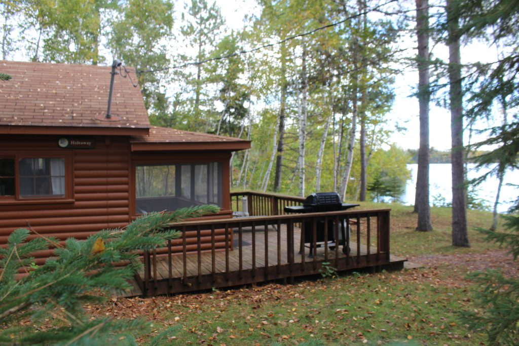 Northern Minnesota Resorts-River Point Resort-Hideaway Cabin