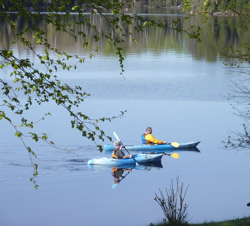 Ely Resorts Lodges-Family Reunion & Fishing Vacations-Kayaking-River Point