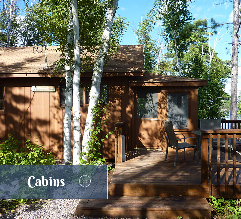 Cabins-Northern Minnesota Resorts-River Point Resort-Ely