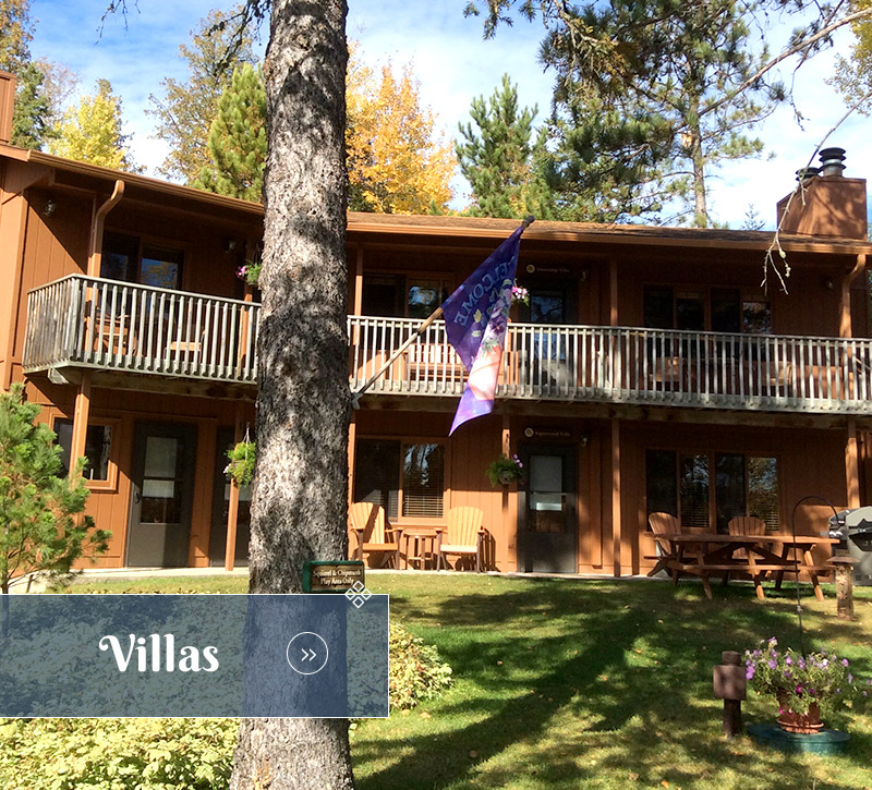 Villas-Ely Resort Lodge-River Point Resort-Ely Minnesota