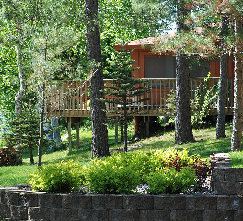Northern Minnesota Resorts-Northern Minnesota Cabins at River Point Resort