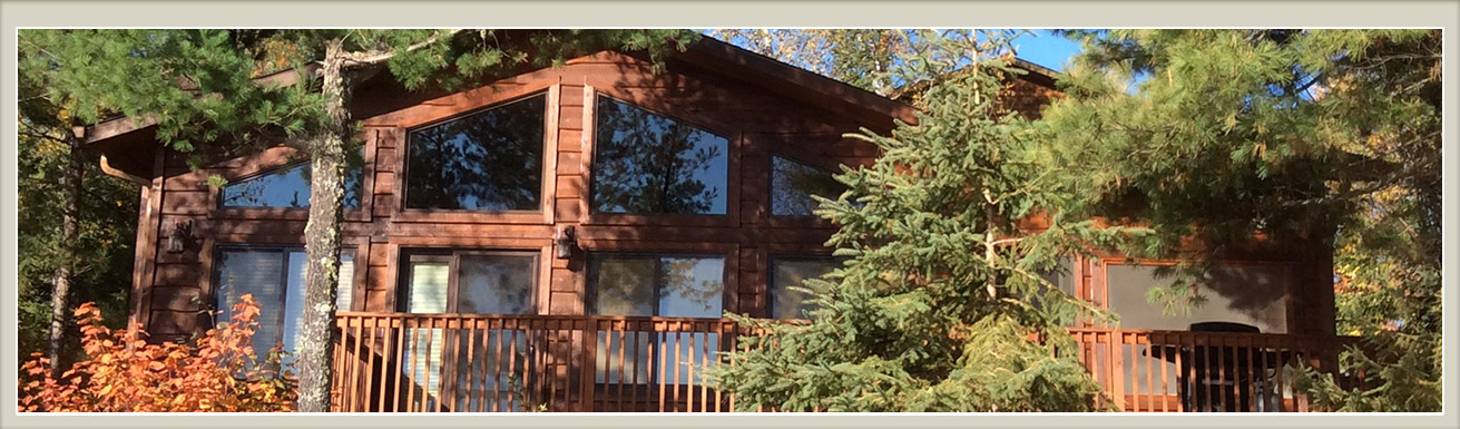 Minnesota Vacation Home Cabins-Ely Minnesota Cabin Rentals-River Point Resort