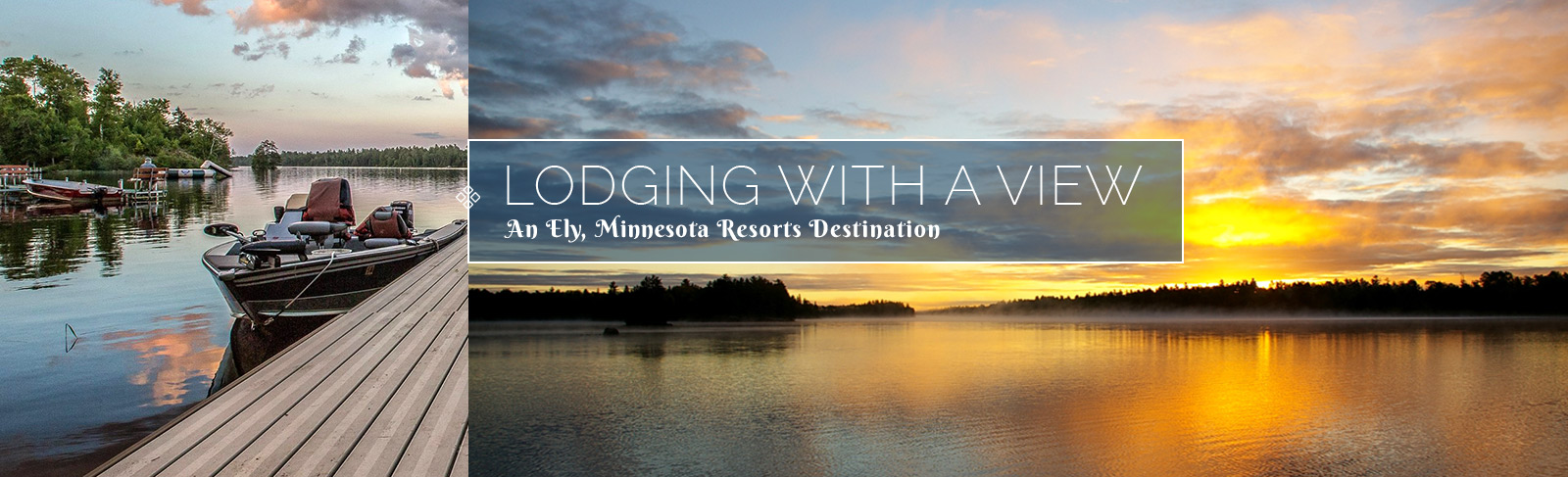 Minnesota Resorts and Vacations-Ely Minnesota Resorts and Cabins-River Point Resort