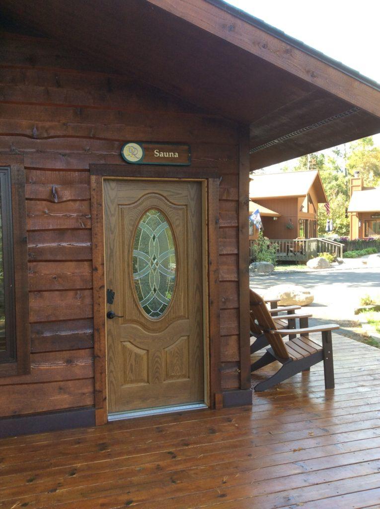 Ely Resorts Lodges-Stoneridge Villa-River Point Resort Sauna